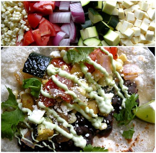 Mrs. Fields Secrets Seasonal Veggie Tacos