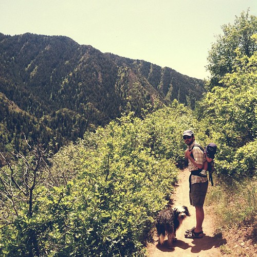 Did some hiking with our bonus weekend day. #memorialday #millcreekcanyon #slc #utah