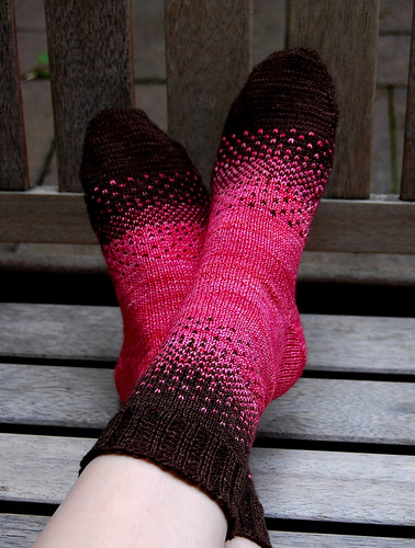 There and back sock patterns