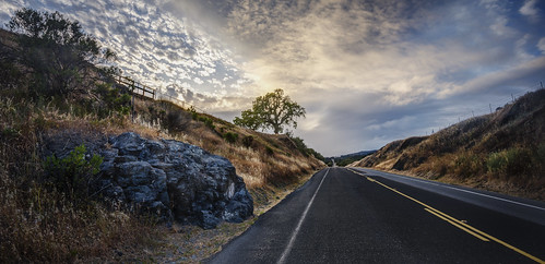 cañada road sunset california san mateo county frontage sanandreasfault nikon d800 nikond800 elmofoto lonetree widescreen hdr exposureblending tonemapping 1635mm gnd leefilters 3stop clouds sky dramatic gettyimages fav10 fav20 fav30 fav40 fav50 fav60 fav70 fav100 10000v