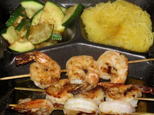 Jumbo skewered shrimp by Coyoty