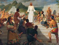 Jesus Teaching in the Western Hemisphere
