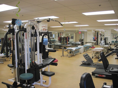 gym at white memorial medical center