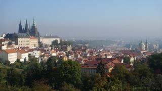 Prague viewed from Petrin Hill
