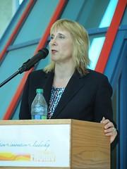 Dr. Lynn Wells, Vice President Academic.