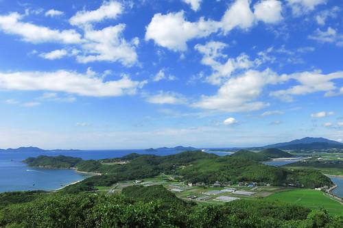 Panorama of Tsuyazaki