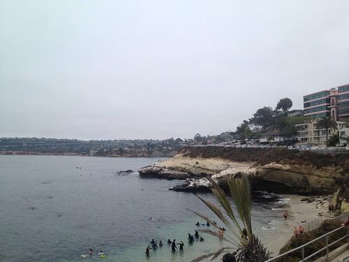 Wonderful La Jolla Cove by Rob Elkins