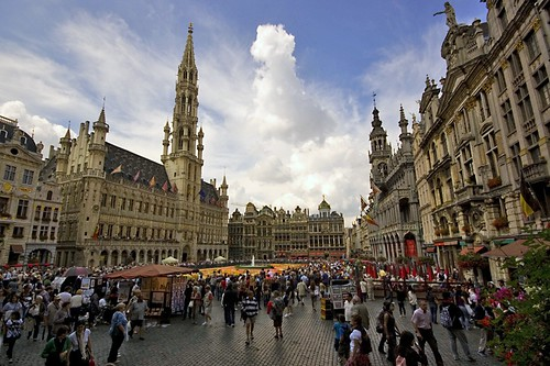 la Grand' Place, Brussels (by: Tom Cuppen, creative commons)