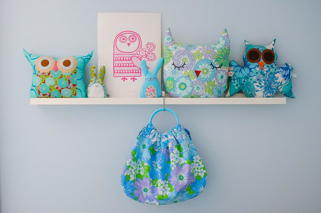 My owl shelf <3