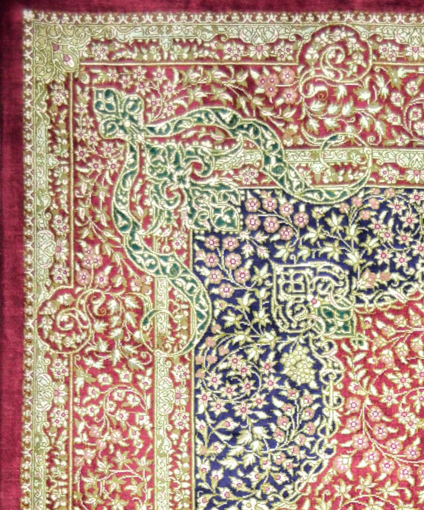 Qum 5x7 Javadi Persian Silk Area Rug