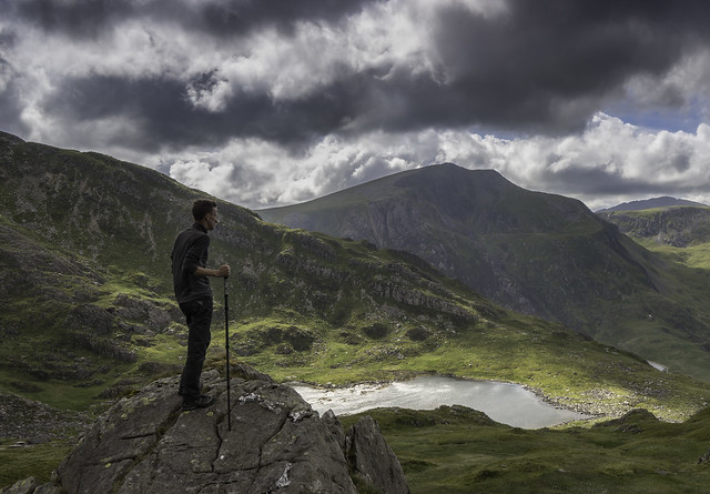 'Amongst The Mountains' - Mt Tryfan, Snowdonia