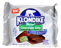 Klondike Mint Chocolate Chip: The Candy!