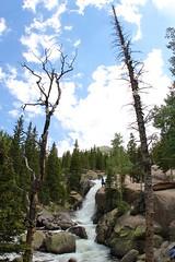 Overview of Alberta Falls