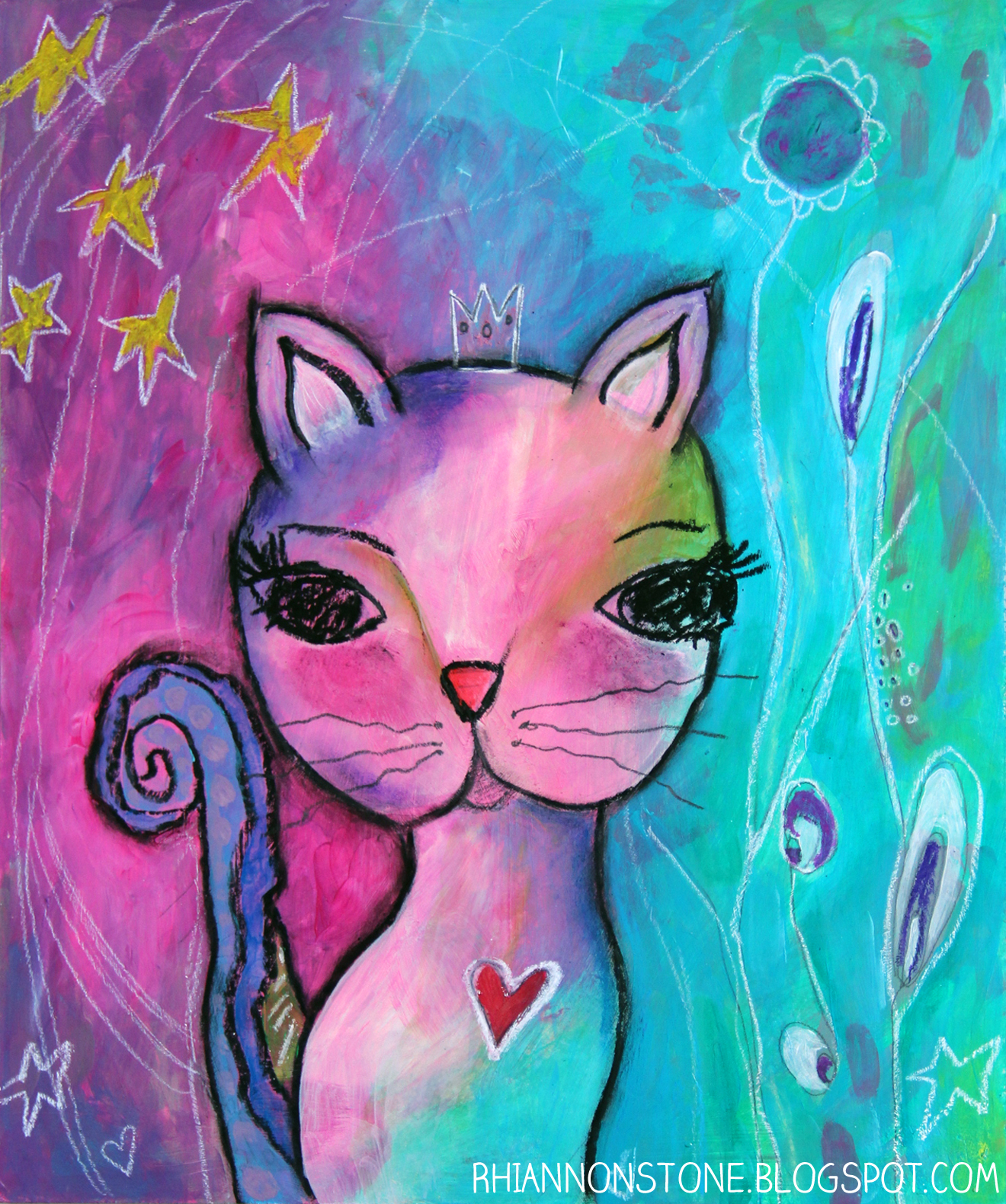Whimsical Kitty - for Aria