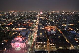 Day3-3 メキシコシティの夜景
