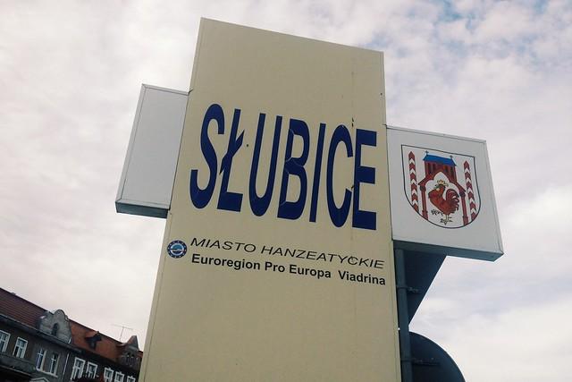 finally, i am inside Slubice