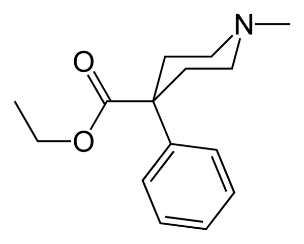 meperidine chemical structure