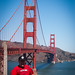 Me in front of The Golden Gate Bridge by iChris
