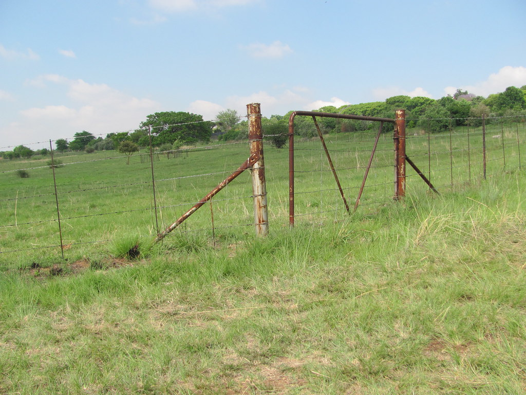 Old Fence and Gate
