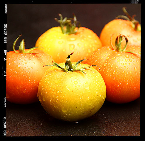 Baked Green Tomatoes
