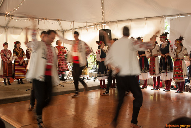 """Zharava"" Bulgarian Folk-Dance Ensemble at the Russian Fall Bazaar"