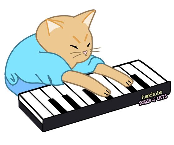 keyboard cat artwork