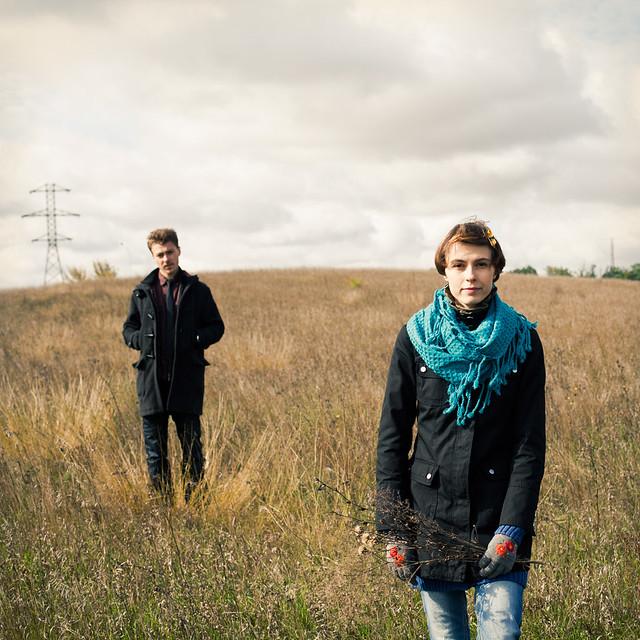 чувства фотосессия пленер любовь  Осенняя фотосессия Оли и Антона. Часть первая. Степь