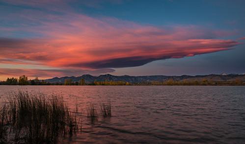 sunrise dawn lenticular bouldercolorado cootlake