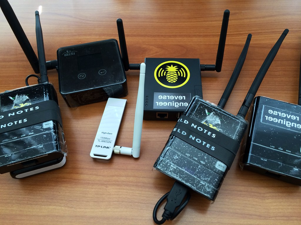 give me your wifis | My new Pineapple Mark V with friends (M