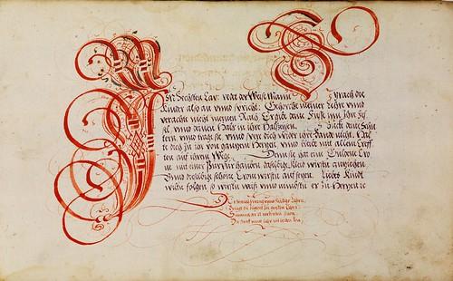 001-Kalligraphische Schriftvorlagen- 1626-1634- Johann Hering- Staatsbibliothek Bamberg