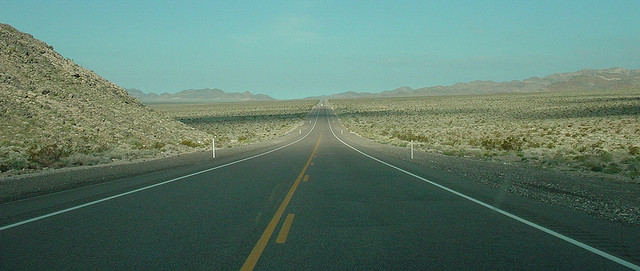 Death Valley road by floridapfe, on Flickr