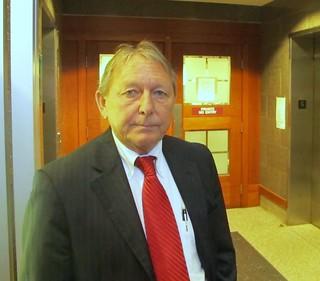Dennis Dechaine lawyer Steve Peterson.