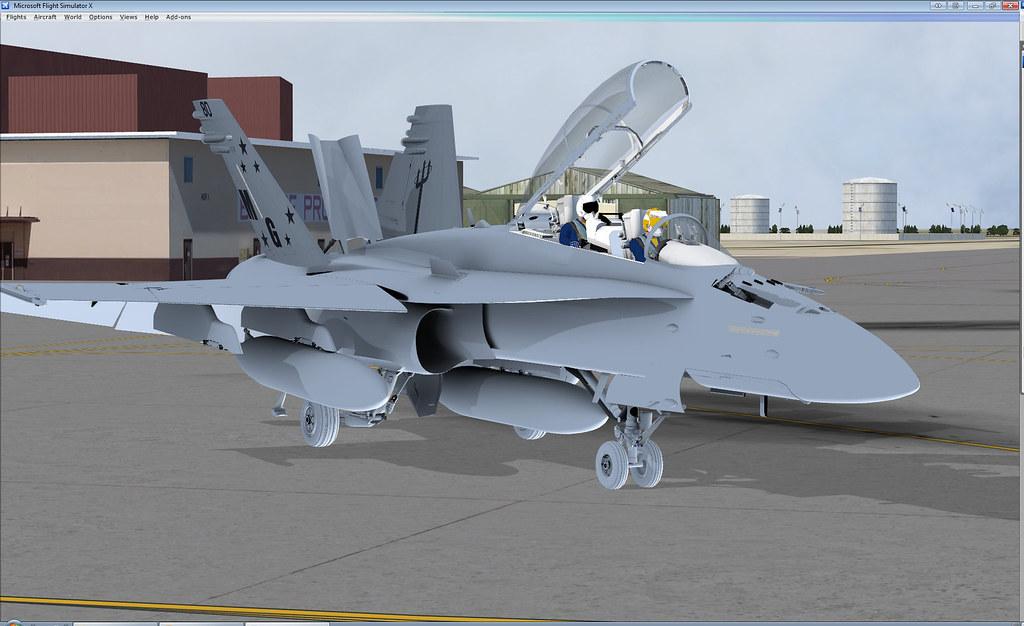 F/A-18A-D Hornet (Legacy) for FSX