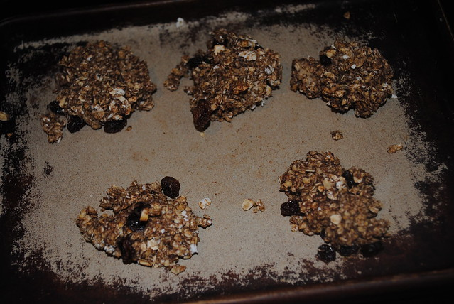 cinnamon currant breakfast cookie