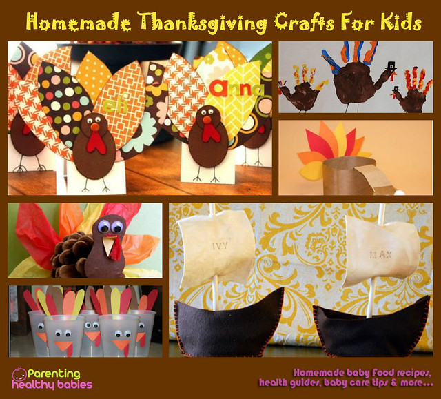 Thanksgiving Craft Ideas For Kids - WWW.ParentingHealthyBabies.com