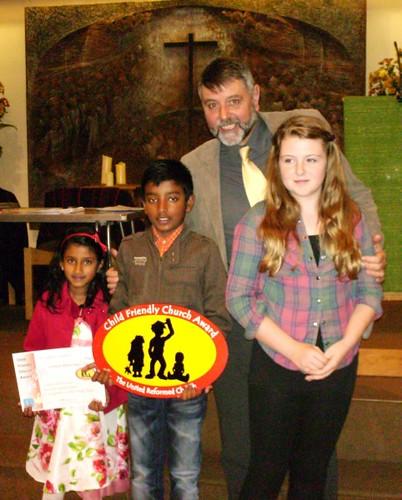 Child Friendly Church Award