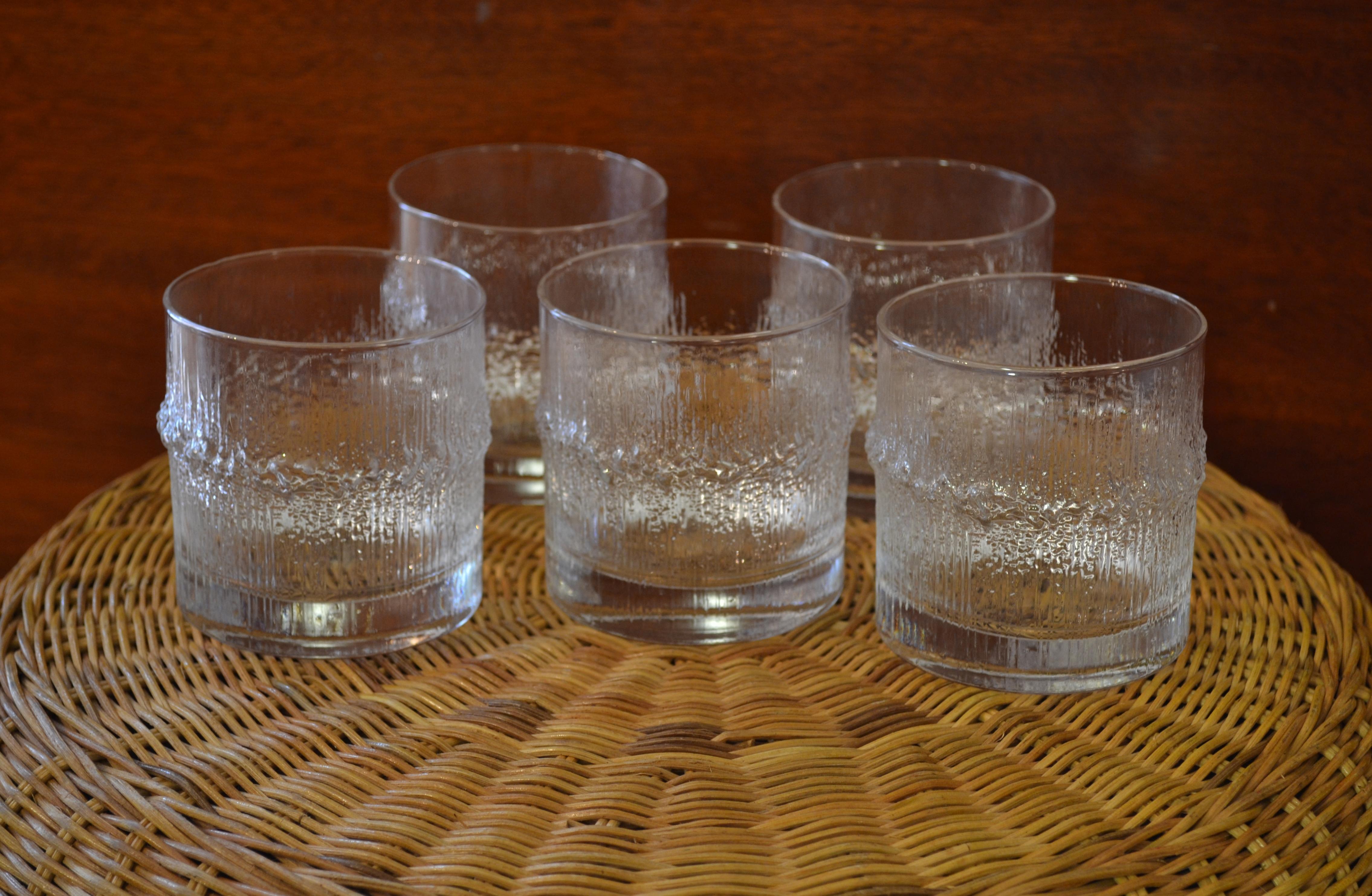 glassware by tapio wirkkala