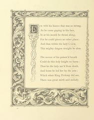 "British Library digitised image from page 38 of ""St. George and the Dragon [in verse], illustrated by J. Franklin [With a preface signed H.]"""