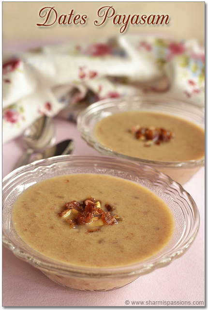 Dates Payasam Recipe
