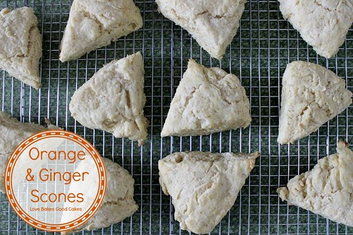 Orange & Ginger scones