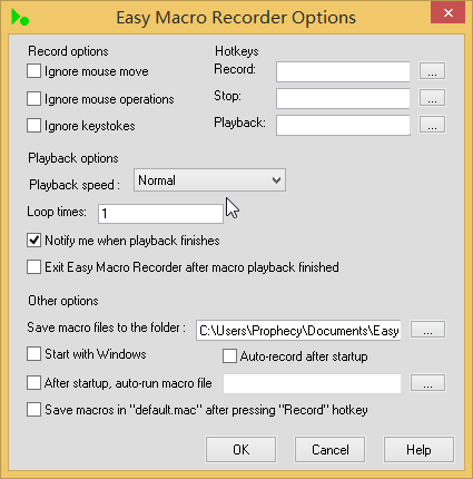 Easy Macro Recorder