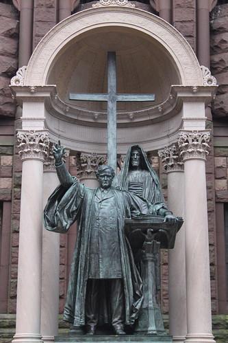 Phillips Brooks Statue