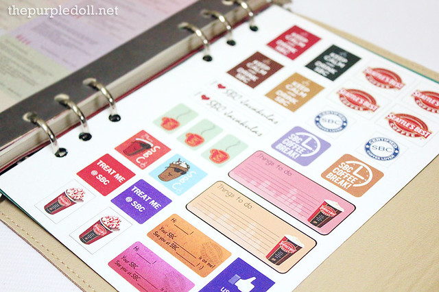 SBC Dream Journal Stickers