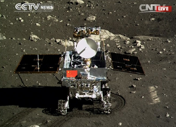 Yutu on the Moon