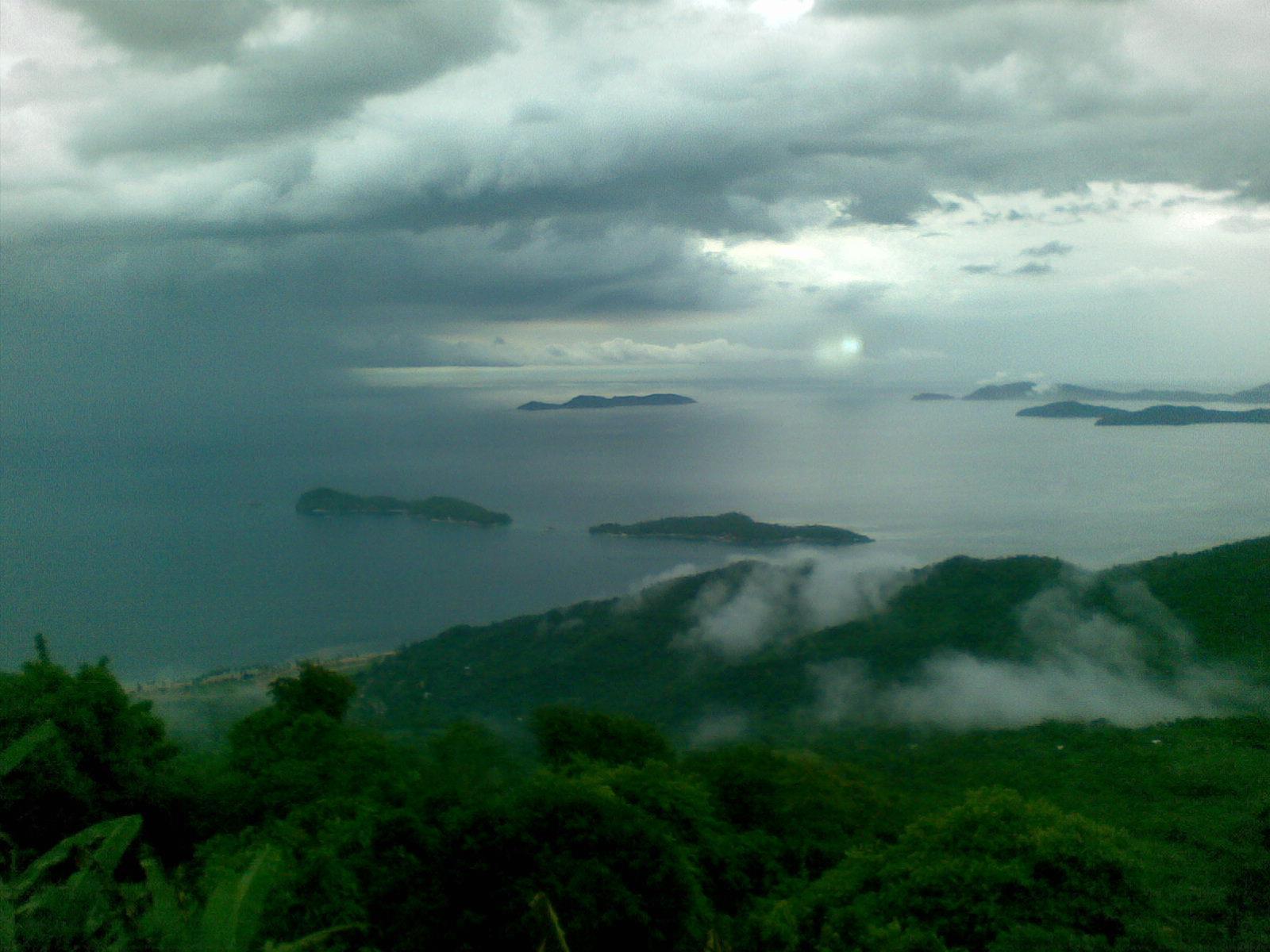 10. Se acerca un huracán. Parque Nacional Mochima. Autor, Worlds9thwonder