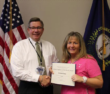 Kristin Fryman: Lexington Corizon nurse recognized by director of jail