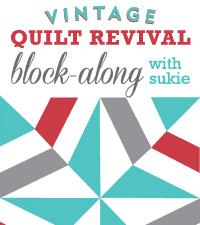 Vintage Quilt Revival Block Along