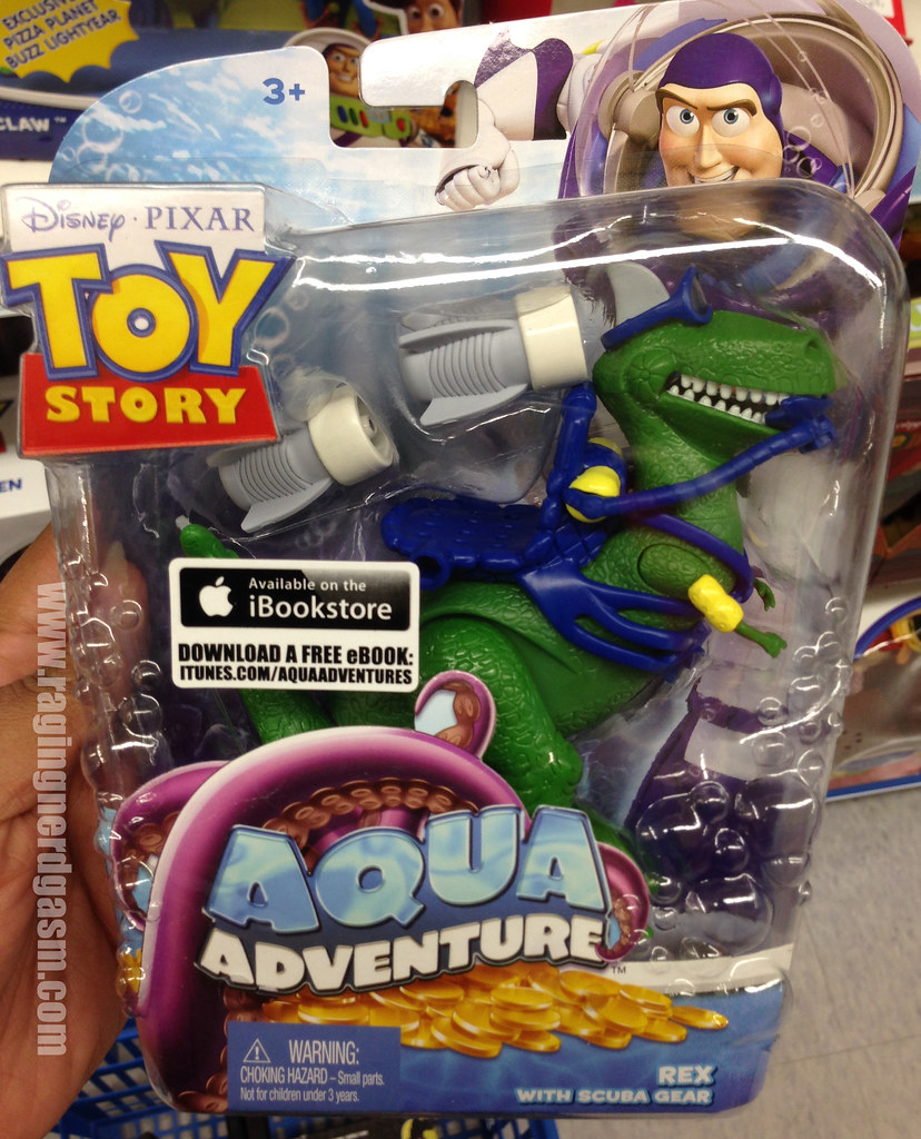 Disney's Toy Story Aqua Adventure Rex with Scuba Gear
