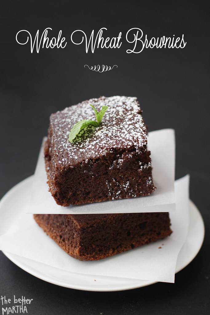 Whole Wheat Brownies 1