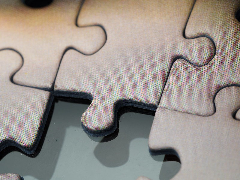 Jigsaw puzzle (detail)